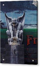 Gargoyle Acrylic Print by Art Block Collections