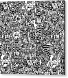 Gargoyles Acrylic Print