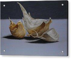 Garlic Cloves Acrylic Print