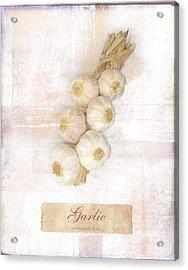 Garlic String. Acrylic Print by Mark Preston