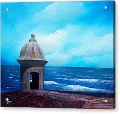 Garrita Del Diablo Acrylic Print by Tony Rodriguez