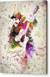 Garth Brooks Acrylic Print by Aged Pixel