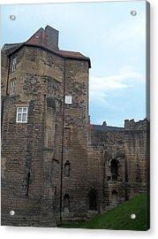 Garth Castle Acrylic Print