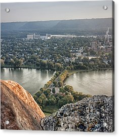 Acrylic Print featuring the photograph Garvin Heights View by Kari Yearous