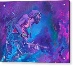 Gary Clark Jr. Acrylic Print