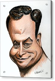 Gary Sinise Acrylic Print by Chris Benice