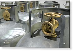 Gas Cylinders Collection Acrylic Print by Allan Swart