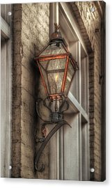 Gas Light Of New Orleans Acrylic Print