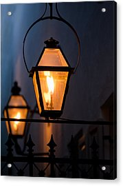 Gas Lights Acrylic Print