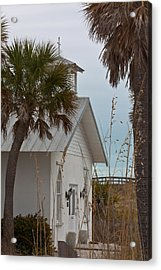 Acrylic Print featuring the photograph Gasparilla Island State Park Chapel by Ed Gleichman