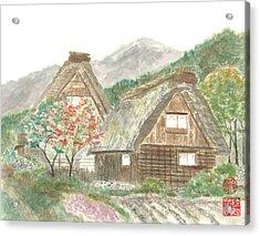 Gassho-zukuri Home Acrylic Print