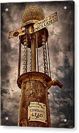 Gassing Up In Jerome Acrylic Print by Priscilla Burgers