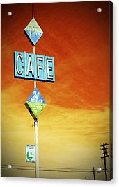 Gaston's Cafe  Acrylic Print by Charlette Miller
