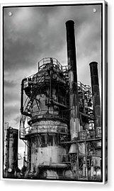 Gasworks Park Acrylic Print by David Patterson