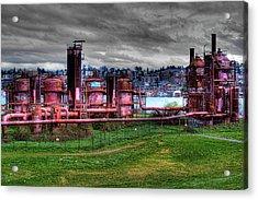 Gasworks Park Seattle Acrylic Print by David Patterson