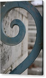 Acrylic Print featuring the photograph Gate Detail...versailles by Lynn England