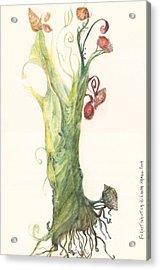 Gate Goddess Of Forest Nautica Acrylic Print