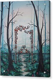 Gate Of Dreams Acrylic Print