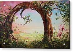 Gate Of Illusion Acrylic Print