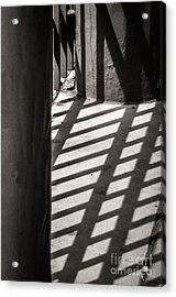Gate Shadows II Acrylic Print