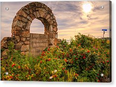 Gate To Nowhere  Acrylic Print by Eti Reid