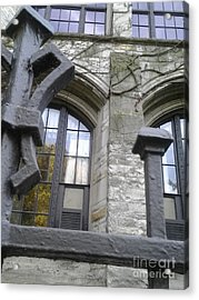Gates And Windows Acrylic Print by Susan Townsend