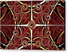 Gates Of Balance Acrylic Print by Anastasiya Malakhova