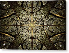 Gates Of Creation Acrylic Print by Anastasiya Malakhova