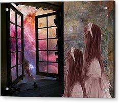Gates Of Heaven-regarder La Fin Du Monde Acrylic Print