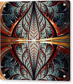 Gates Of Night Acrylic Print by Anastasiya Malakhova
