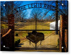 Gates Of Rock And Roll Acrylic Print by Barry Jones