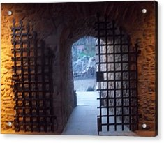 Gateway And Portcullis Acrylic Print by James Potts