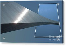 Gateway Arch St Louis 05 Acrylic Print by Thomas Woolworth