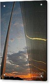 Gateway Arch Sunrise Acrylic Print