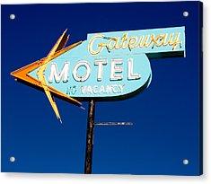 Gateway Motel Acrylic Print