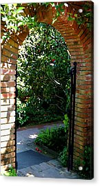 Gateway Acrylic Print by Tamyra Crossley