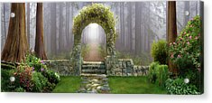 Gateway To Eternity Acrylic Print by David M ( Maclean )