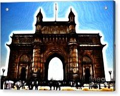 Gateway To Fractalius Acrylic Print