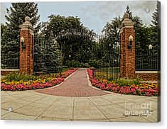 Acrylic Print featuring the photograph Gateway To Ndsu by Trey Foerster