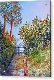 Gateway To Paradise Acrylic Print