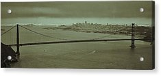 Gateway To The Bay Acrylic Print by Dave Hall