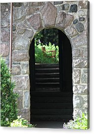 Acrylic Print featuring the photograph Gateway To The Garden by Bill Woodstock