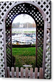 Gateway To The Sea Acrylic Print by Will Boutin Photos