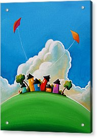 Gather Round Acrylic Print by Cindy Thornton
