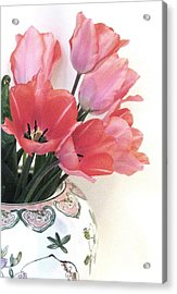 Gathered Tulips Acrylic Print
