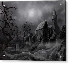 Gathluma's Castle Acrylic Print by James Christopher Hill