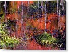 Gatineau Abstract Acrylic Print