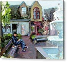 Gatlinburg Acrylic Print by Erin Rickelton