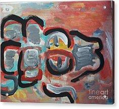 Gator Acrylic Print by Jay Manne-Crusoe