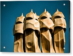 Gaudi's Soldiers  Acrylic Print by Joanna Madloch